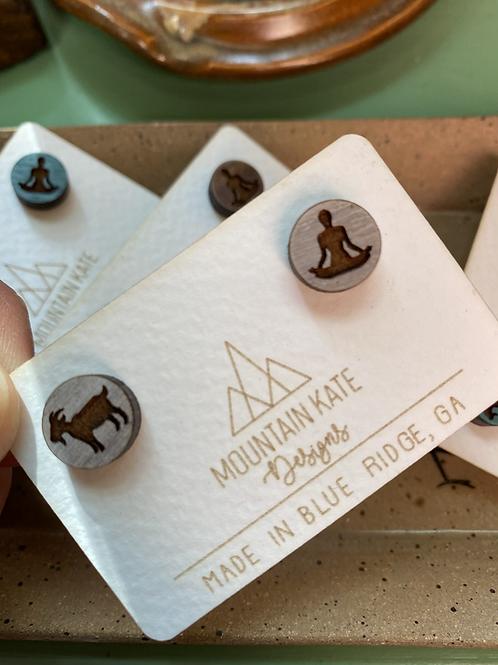 Goat Yoga Earrings