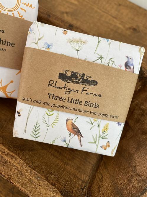 Three Little Birds Goats Milk Soap