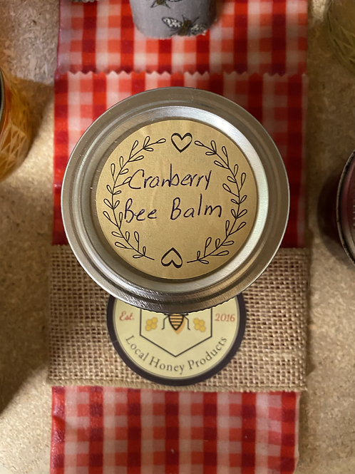 Cranberry Bee Balm 4 oz