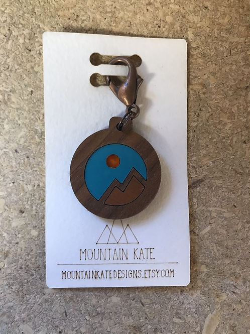 Mountain Reflections Key chain