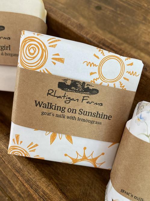 Walking on Sunshine Soap