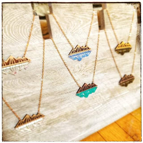 Mountain Reflection Necklace