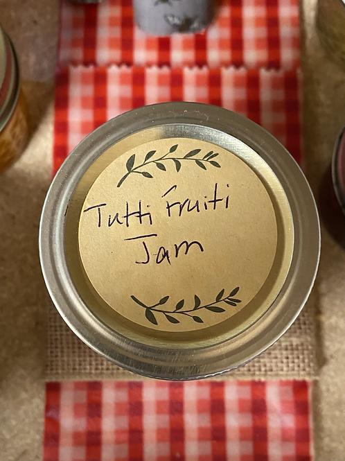 Tutti Fruiti Jam 8 oz
