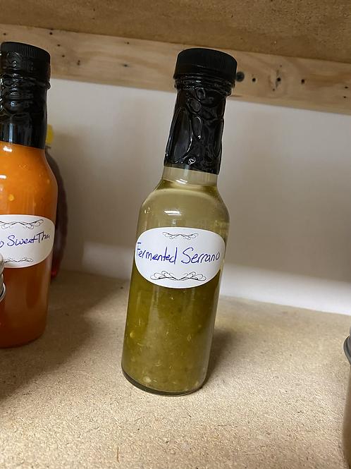 Fermented Serrano Sauce