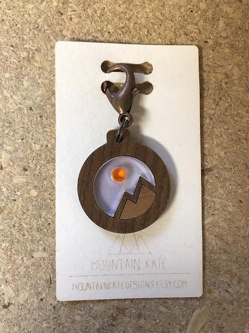 Mountain Reflection Keychain