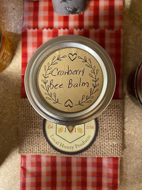 Cranberry Bee Balm 8 oz