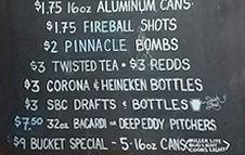 Drink Specials at Senunas' in Wilkes-Barre