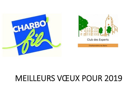 Meilleurs voeux 2019 au Beaulieu