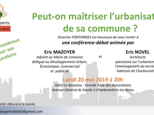 Réunion publique : Peut-on maîtriser l'urbanisation de sa commune ?