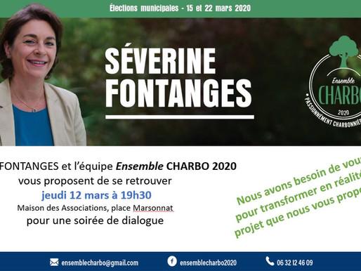 """Invitation """"Soirée de dialogue"""" ce jeudi 12 mars à 19h30 à Charbonnières"""