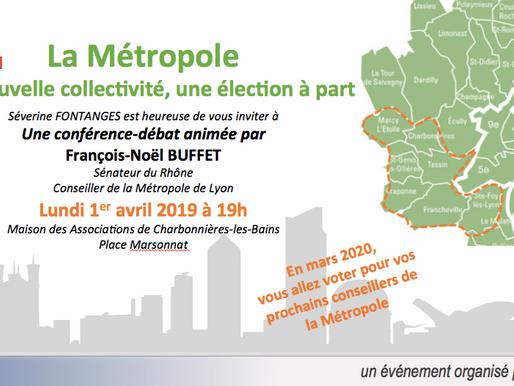 """Réunion publique """"La Métropole de Lyon : une nouvelle collectivité, une élection à part"""""""