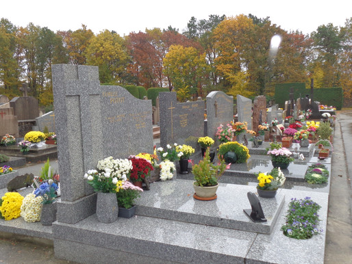 Pour que nos morts reposent en paix à Charbonnières