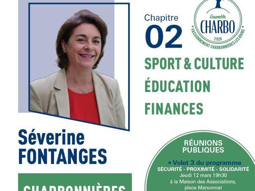 Deuxième volet du programme de campagne de Séverine Fontanges et son équipe