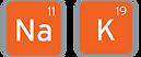 Sodium and Potassium icons