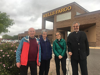 Faith Leader delegation to Wells Fargo.J