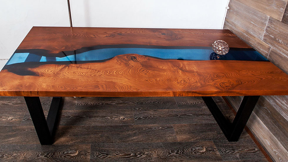 Dining table Konovalov. Wooden Table to order   Furniture company Hard Massive   Wooden