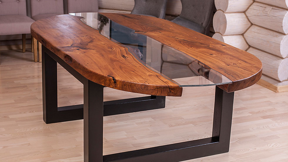 Oval River Table