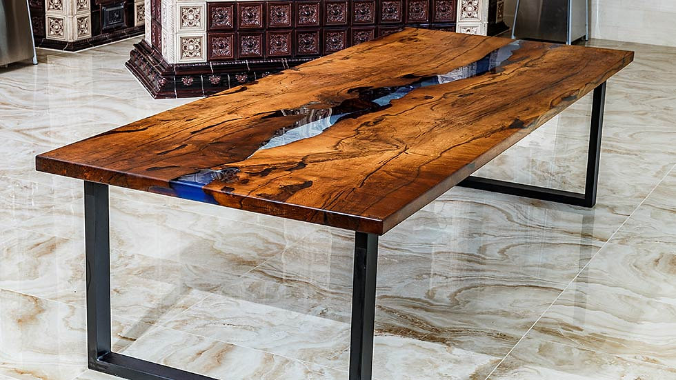 Wood Table Desk Home Design Ideas And Pictures