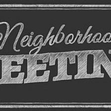 October Neighborhood Meeting