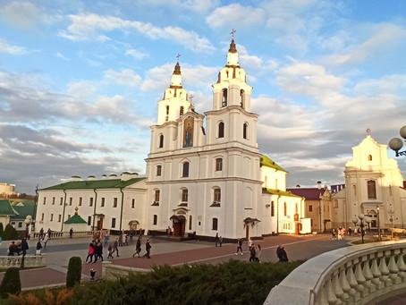 Городская зарисовка Минска