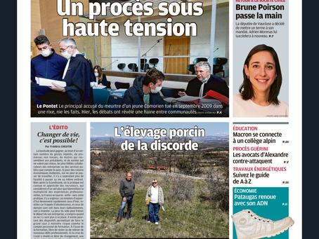 """La Provence consacre une manchette de sa """"Une"""" et un article à Connectez-moi !"""
