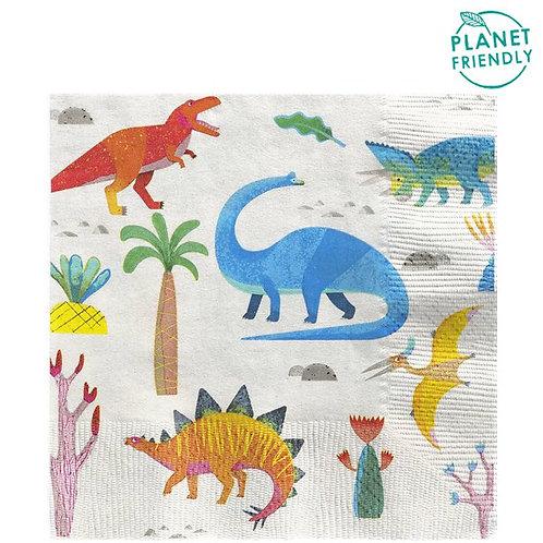 Dino Party Napkins
