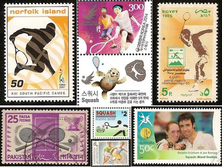 Squash on Stamps