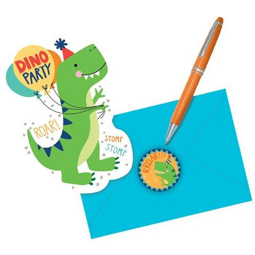 Dino Party Invitations