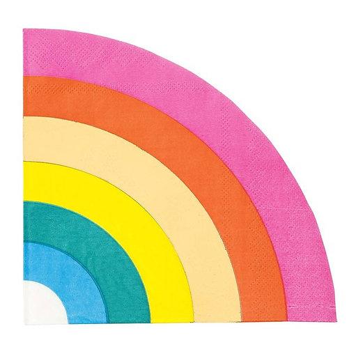 Rainbow Paper Napkins (16pk)