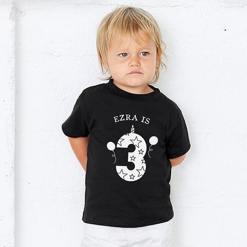 Personalised Birthday T-Shirt