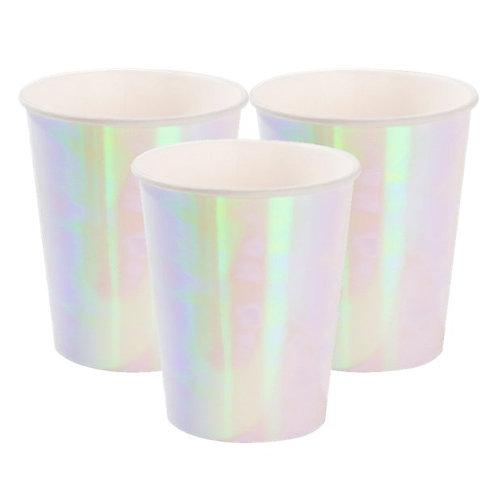 Iridescent Paper Cups (12pk)