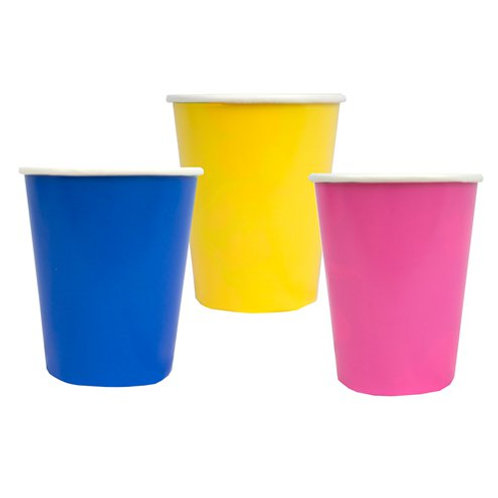 Colour Pop Paper Cups