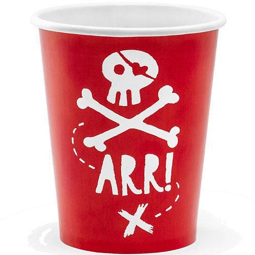 Arr! Paper Cups