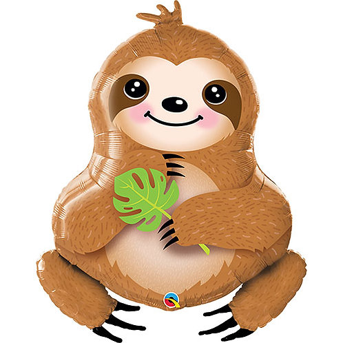 Happy Sloth Balloon