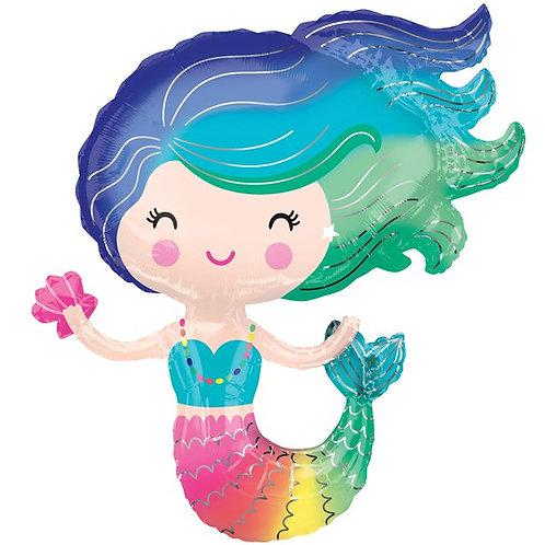 """Mermaid Supershape Balloon 30"""""""