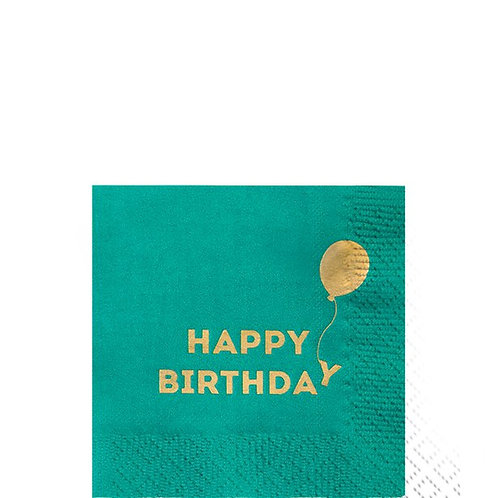 Birthday Paper Napkins