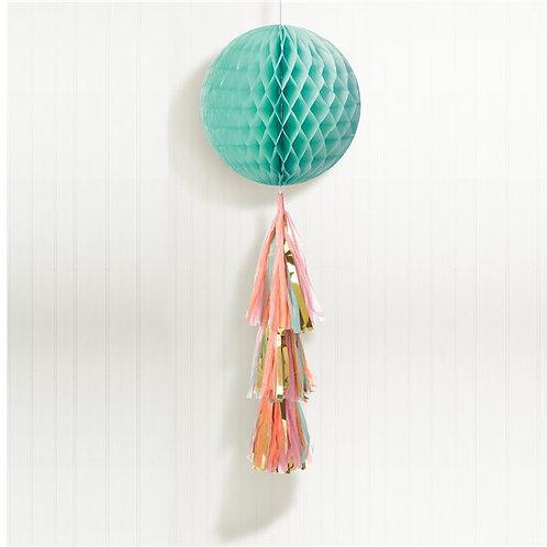 Pastel Honeycomb Ball