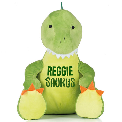 Personalised Dino Soft Toy