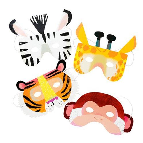 Animal Paper Masks