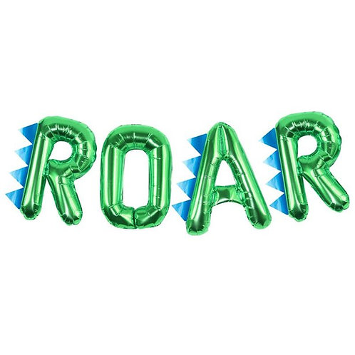 Roar Balloon Banner