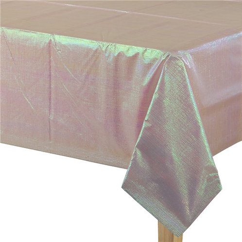 Iridescent Paper Tablecover - 1.3m x 2.7m