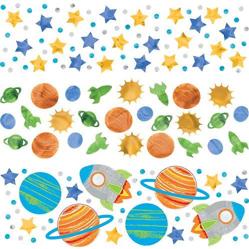 Space Table Confetti