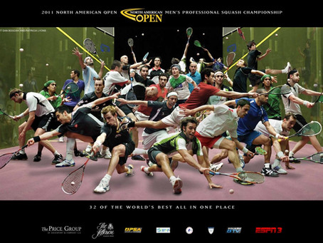 Squash's Memorable Event Posters
