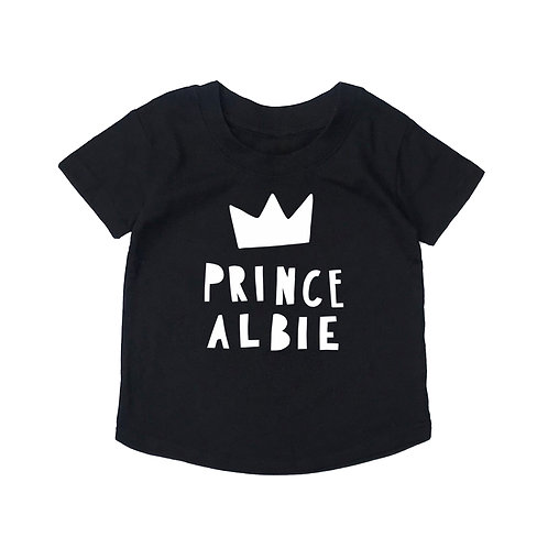 Personalised Prince/Princess T-Shirt