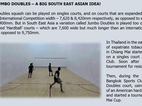 Jumbo Doubles - A Big South East Asian Idea!