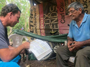 Personal Bible Study in the Woods of Nicaragua