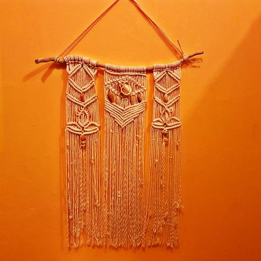 The Way Crafts - Macramé Hanging Wall