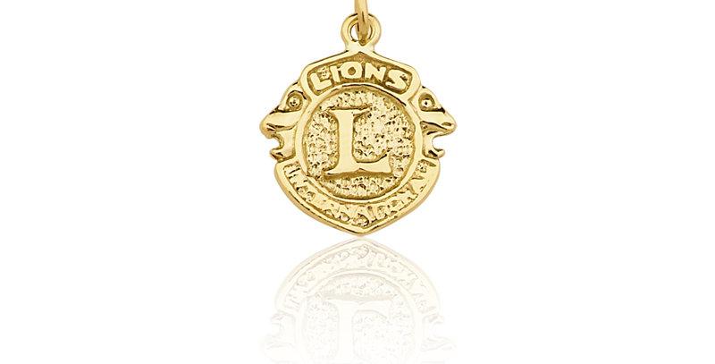 Pingente Lions BT3 em Ouro 10K
