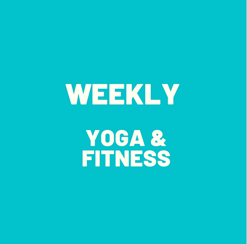 Weekly Recurring Yoga & Fitness