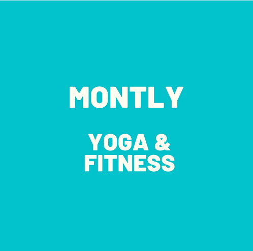 Monthly Recurring Yoga & Fitness